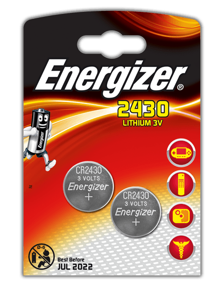 Батарейки Energizer CR2430 BP2 (2 шт)