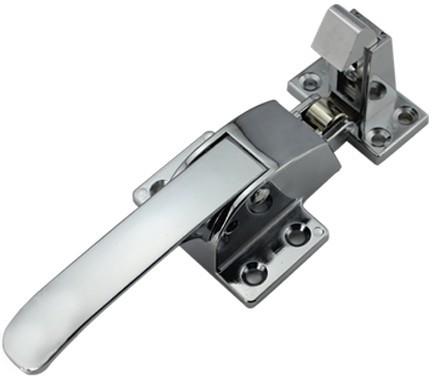 Ручка-защелка для морозильных камер L=160 N21, оцинкованная сталь