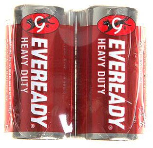 Батарейки Eveready Heavy Duty R14 SW2 (2 шт)