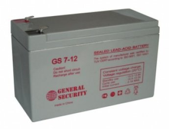 Аккумулятор General Security GS 7-12 AGM VRLA