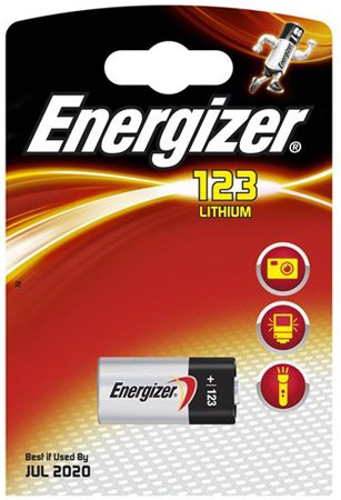 Батарейка Energizer 123 Lithium Photo BP1