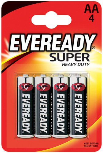 Батарейки Eveready Super Heavy Duty R6 BP4 (4 шт)