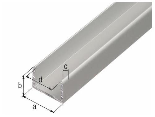 Профиль нр стыковочный 4-6 мм 6м прозрачный