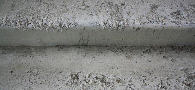 исправление дефектов бетона