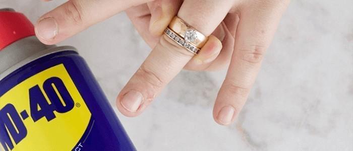 Не снимается кольцо