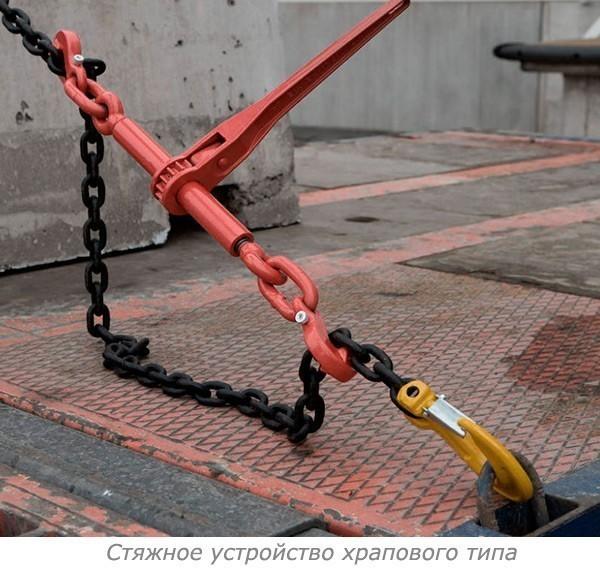 Стяжное устройство храпового типа - фото