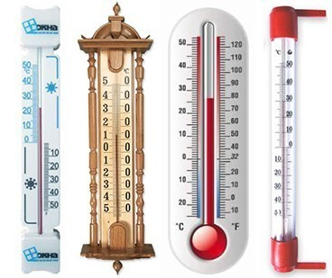 Термометры виды термометров